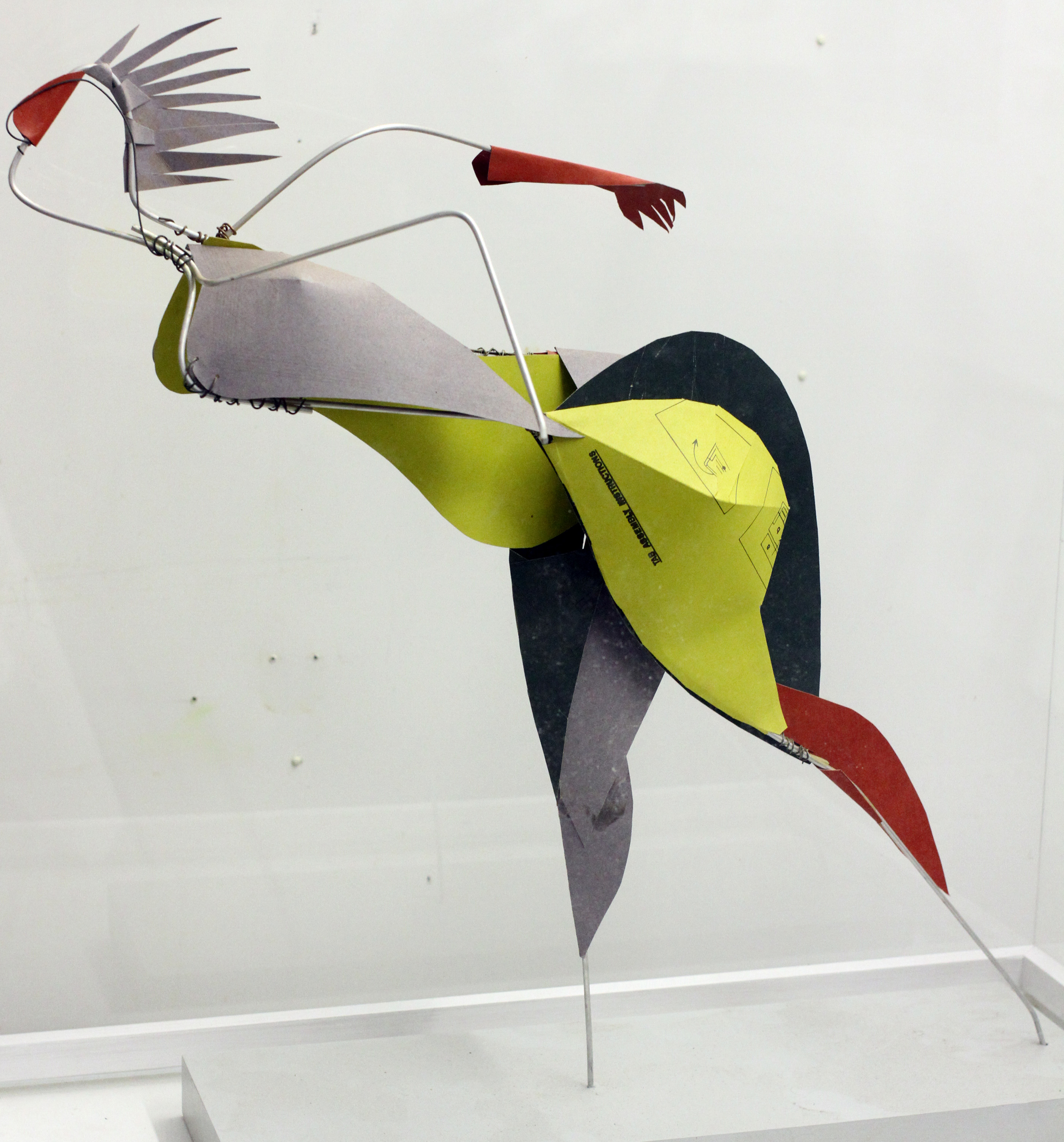 Run, card and wire construction, 2010