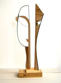 Head. Wood and wire, 2013