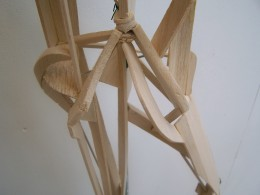 Work in progress, balsa wood construction